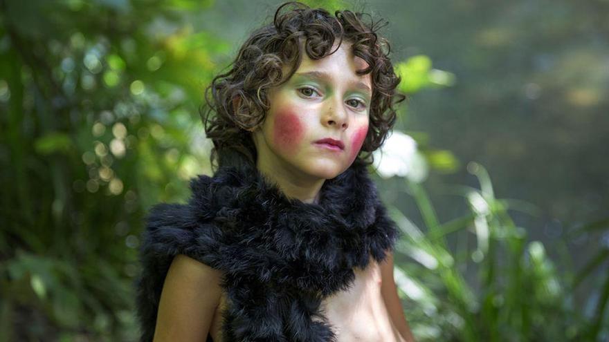 Laia Artigas interpreta a 'Frida', trasunto de Carla Simón en la película
