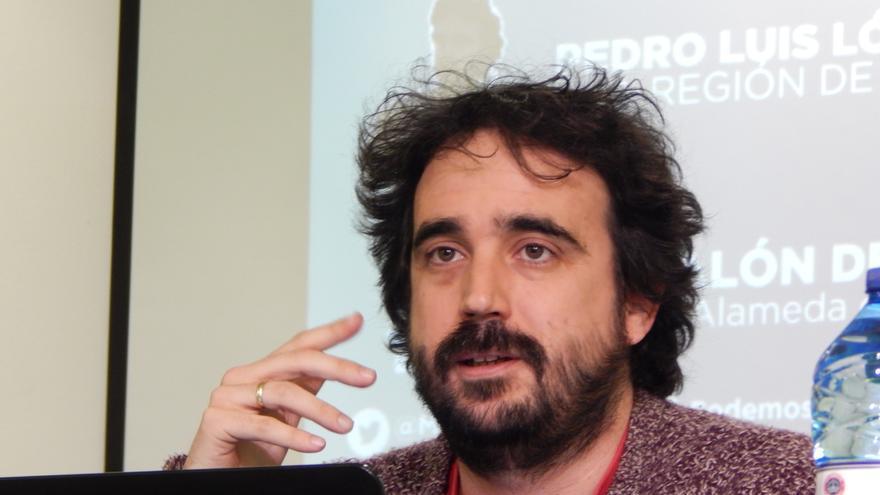 Pedro Luis López, candidato de anticapitalistas en Murcia con 'Podemos en movimiento'