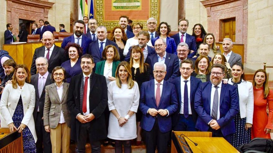 Grupo parlamentario Psoe andaluz