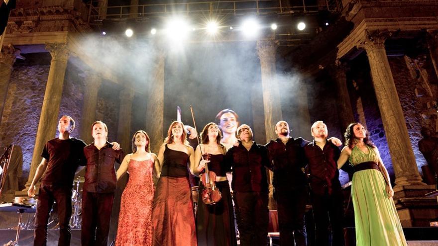 Acetre en el Teatro Romano de Mérida / Foto: Jorge Armestar - http://acetre.com/