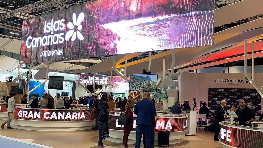 Stand de las Islas Canarias en Fitur 2020