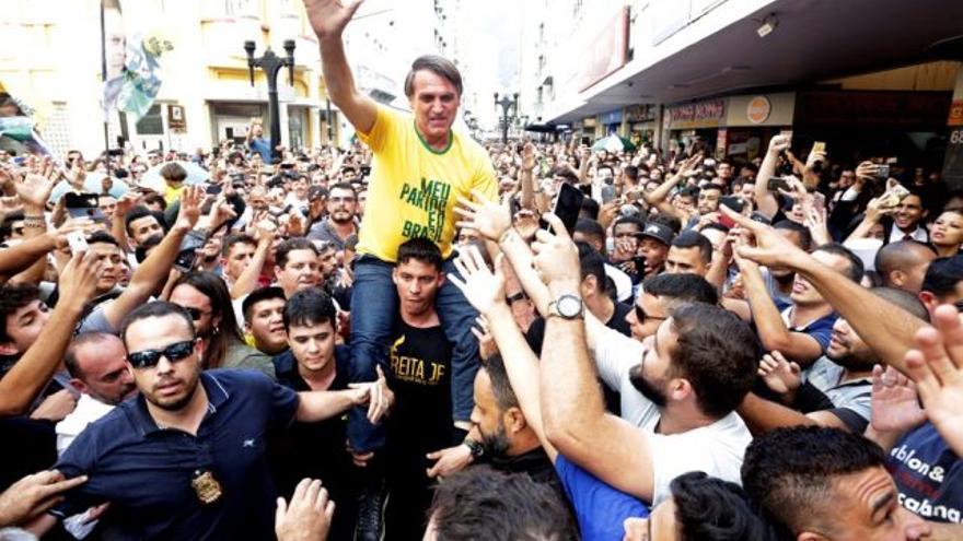 Jail Bolsonaro, candidato a la presidencia de Brasil. EFE