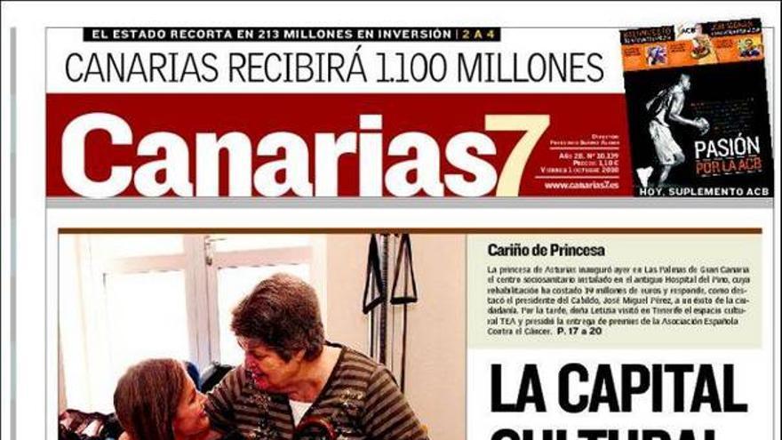 De las portadas del día (01/10/2010) #1