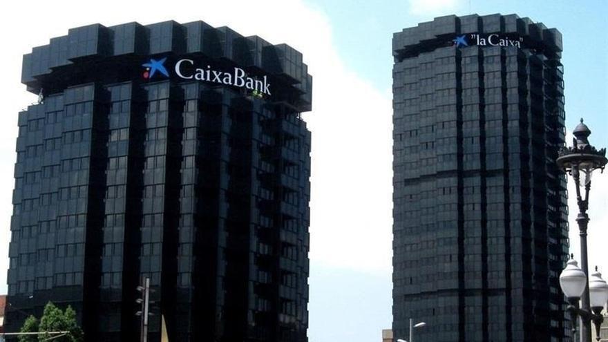 Las oficinas de CaixaBank en Barcelona