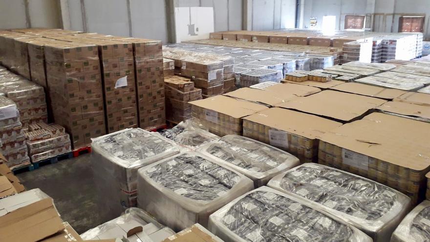 Los alimentos se entregan a 96 organizaciones que, a su vez, atienden a 31.569 personas