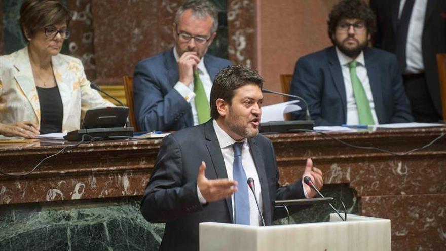 """Ciudadanos pide """"un candidato alternativo"""" a Pedro Antonio Sánchez"""