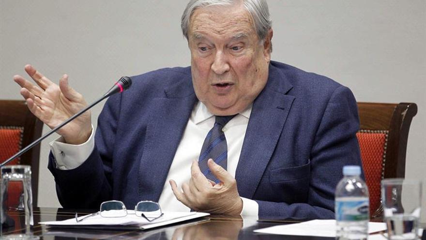El diputado del Común, Jerónimo Saavedra. EFE/Cristóbal García