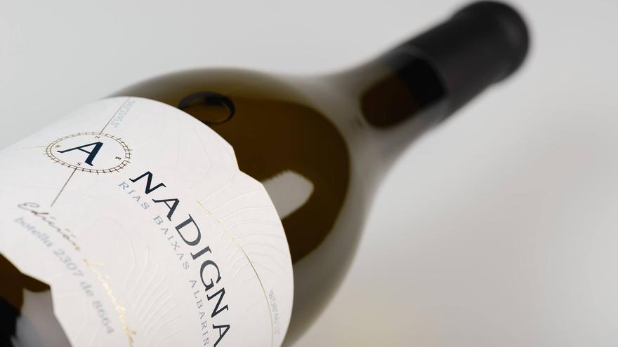 Botella de vino Anadigna