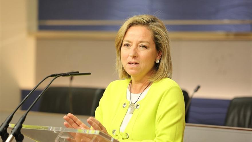 Ana Oramas, diputada de Coalición Canaria. (EUROPA PRESS)