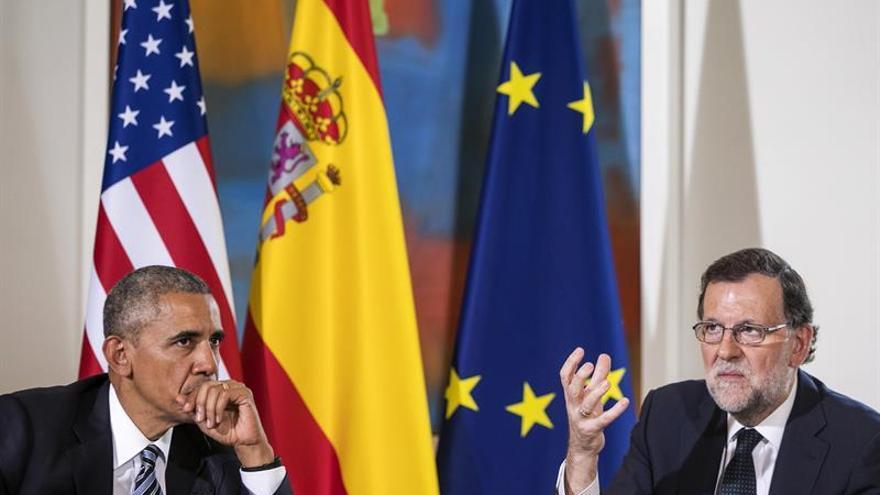 """Rajoy-Obama, jamón versus """"emanems"""""""