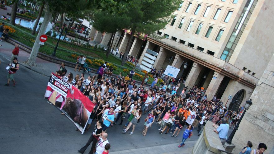 Manifestación antitaurina en Albacete / Albacete Capital
