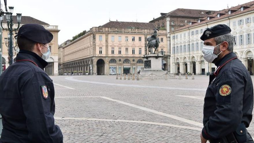 Italia reduce su numero diario de muertes tras el récord del viernes y registra 756 fallecimientos en 24 horas