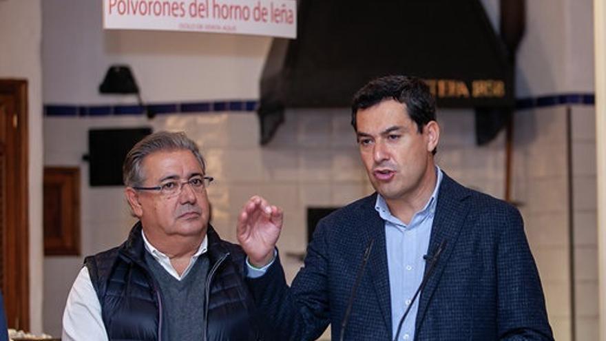 """Moreno espera que Susana Díaz """"aclare muchas cosas y diga toda la verdad"""" en el Senado y que """"no tape la corrupción"""""""