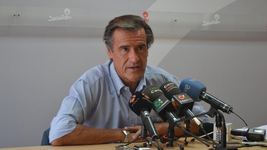 El eurodiputado Juan Fernando López Aguilar.