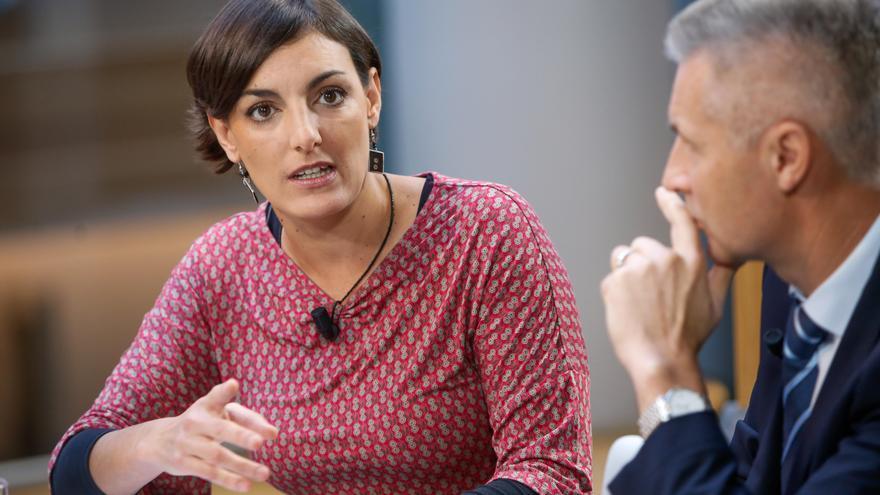 La eurodiputada de Podemos Lola Sánchez