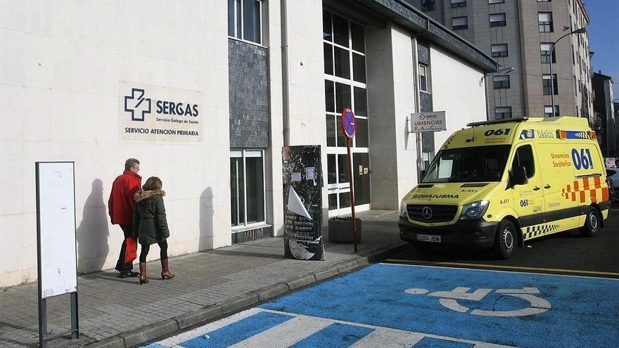 Un centro de salud en Chantada (Lugo)