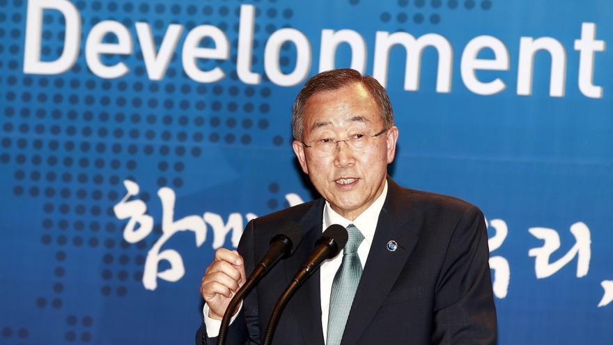 Ban lamenta que Irán siga sin aclarar programa nuclear tras informe de OIEA