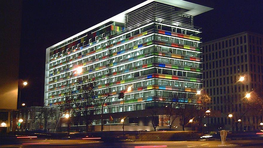 Sede del Instituto Nacional de Estadística en Madrid