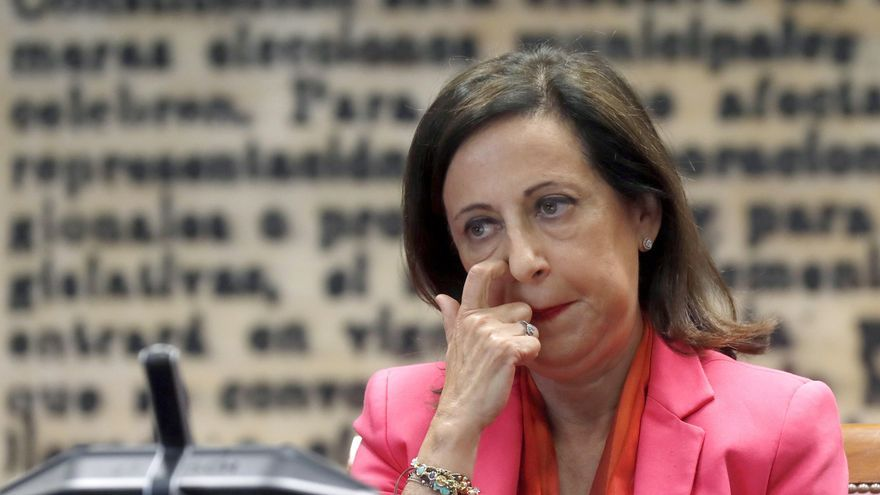 La ministra de Defensa, Margarita Robles, comparece esta tarde en la Comisión de Defensa del Senado para explicar las líneas generales de la política de su departamento.