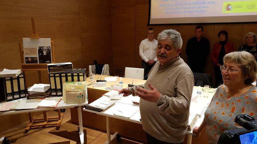 Miles de legajos de Marcelino Camacho irán al Centro de Documentación de la Memoria Histórica.