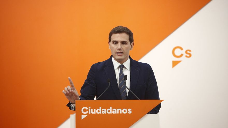 Rivera afirma que Ciudadanos no aceptará ninguna medida que el PP pacte con Vox que altere el programa que firmaron