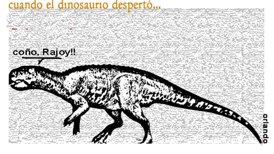 Cuando el dinosaurio despertó...