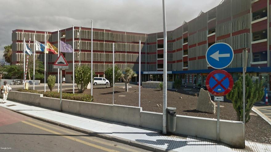 El establecimiento hotelero afectado por los impagos a sus empleados, en Las Galletas