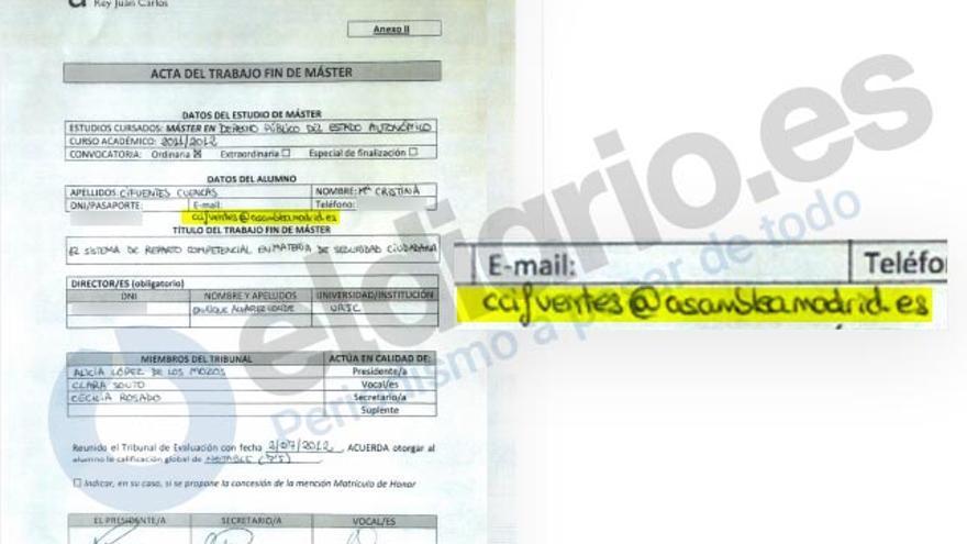 Documento Cifuentes