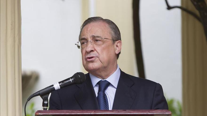 Florentino Pérez explica la relación entre el Real Madrid y una empresa de Púnica