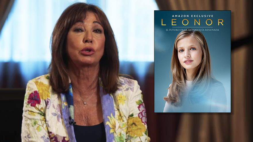 Amazon estrena por sorpresa un documental sobre la Princesa Leonor, con  participación de Ana Rosa Quintana