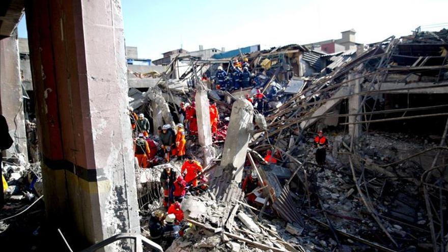 Ocho muertos y quince heridos en la explosión de una fábrica en Turquía