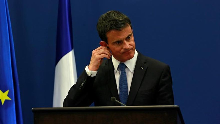 La popularidad de Manuel Valls cae a mínimos del 24 por ciento en Francia