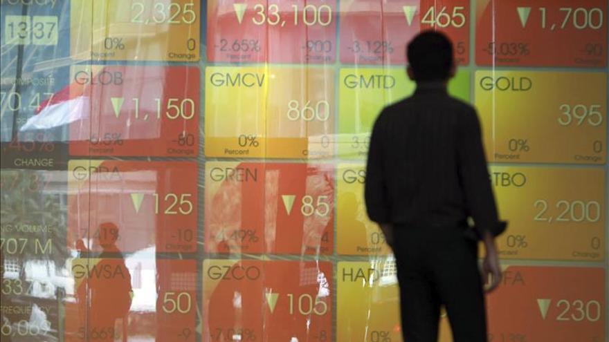 Las bolsas del Sudeste Asiático abren al alza, menos Indonesia