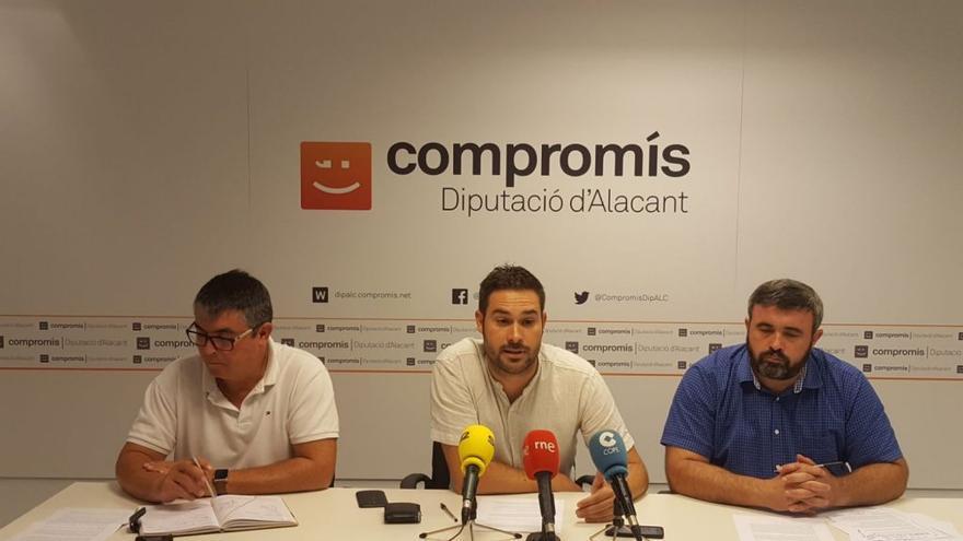 Gerard Fullana, portavoz de Comrpomís en la Diputación, ha anunciado la medida
