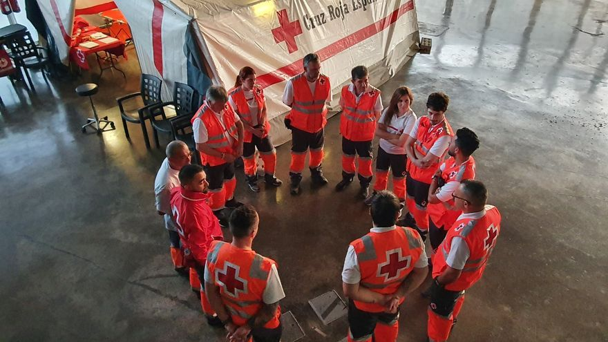 Cruz Roja en el carnaval de Santa Cruz de Tenerife 2020.
