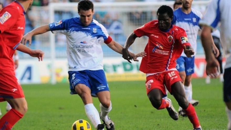 Natalio da la primera victoria al CD Tenerife
