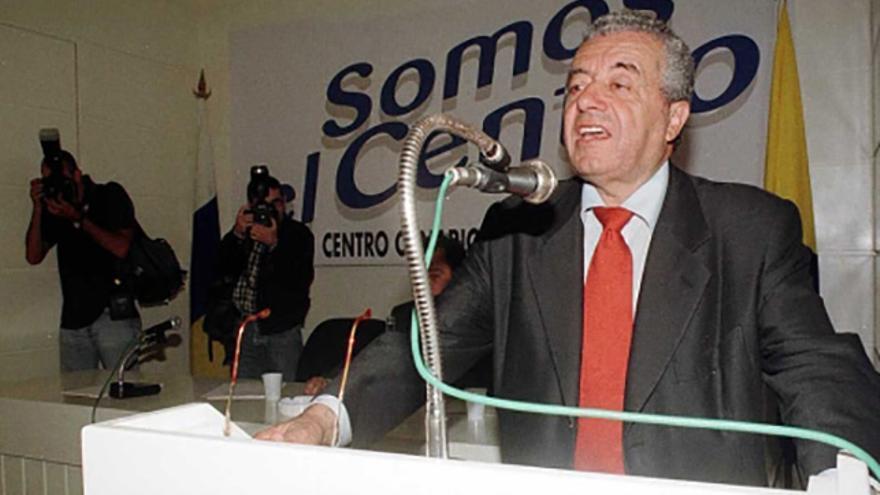 Lorenzo Olarte, durante un acto del CCN, en una foto de archivo. EFE.