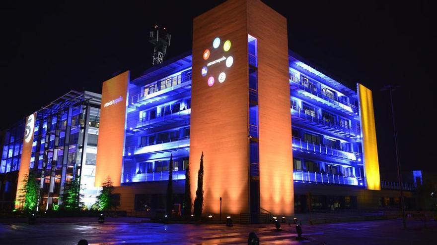 El edificio de Mediaset España