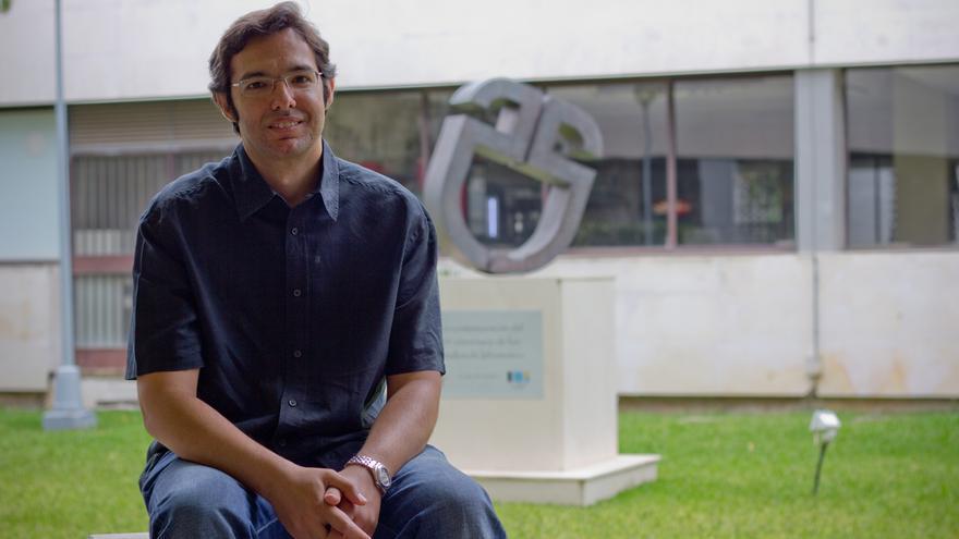 Sergio Pozo, CEO de la startup española Intelliment Security. / Foto: Universidad de Sevilla.