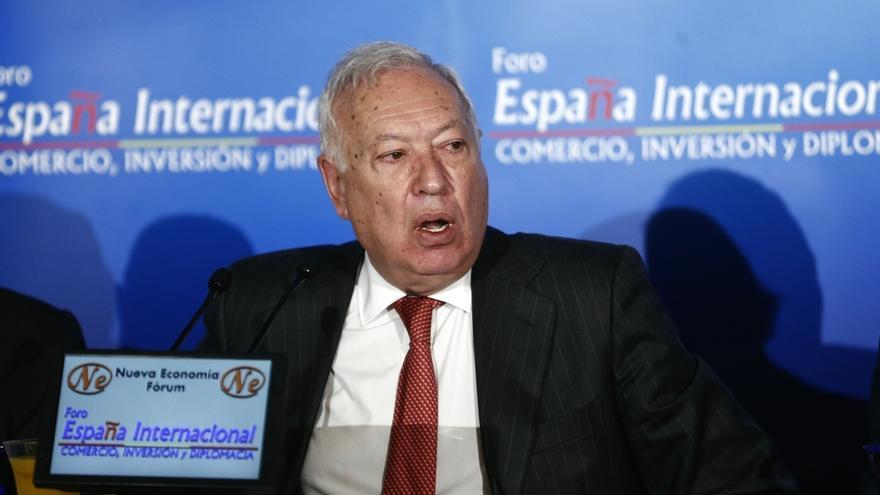 Margallo alerta de que Cataluña quiere crear en el exterior lainfraestructura para un futuro Estado independiente