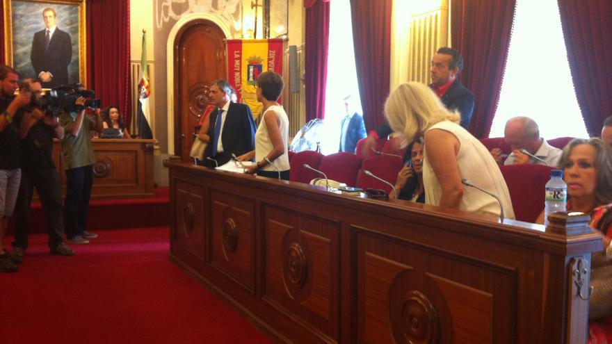 Pleno municipal en el que Alberto Astorga dio sus explicaciones