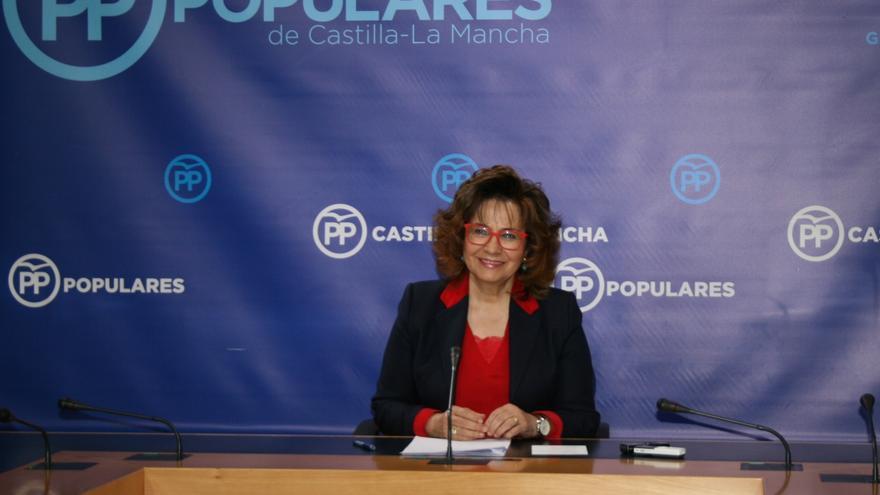 Carmen Riolobos, en rueda de prensa