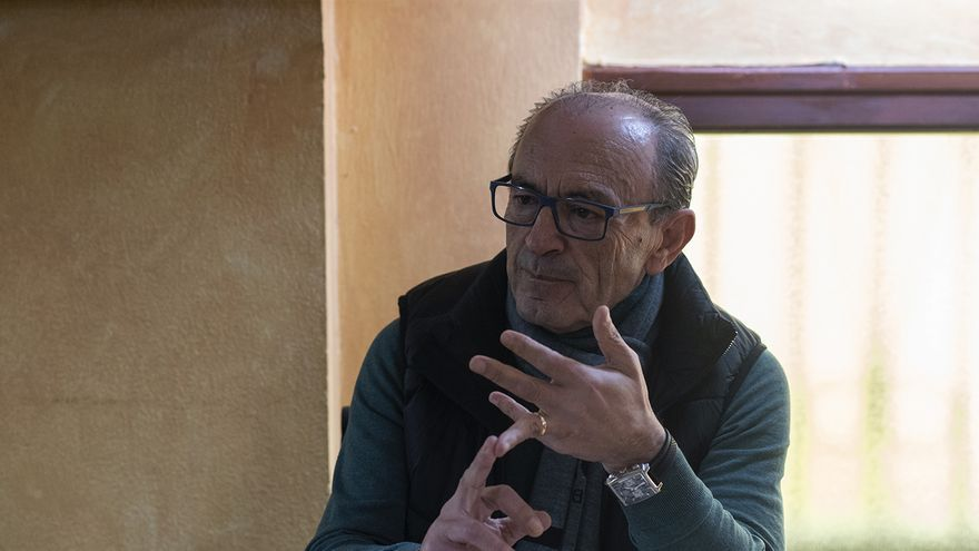 Francisco Javier López Marcano, exconsejero de Cultura, Turismo y Deporte y vicesecretario general del PRC.   Joaquín Gómez Sastre