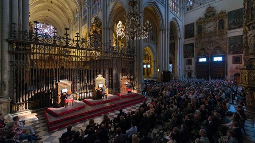 Batalla de órganos en la Catedral de Toledo
