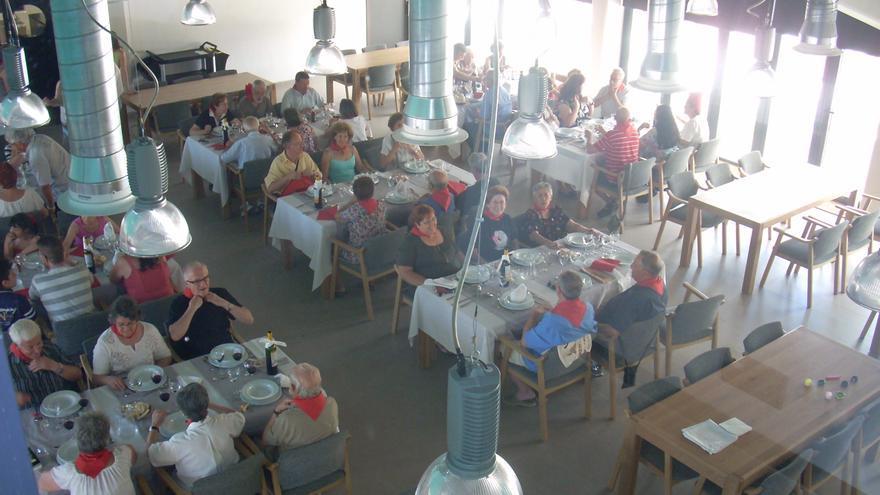 Imagen del comedor donde almuerzan cada día los cooperativistas. / Trabensol