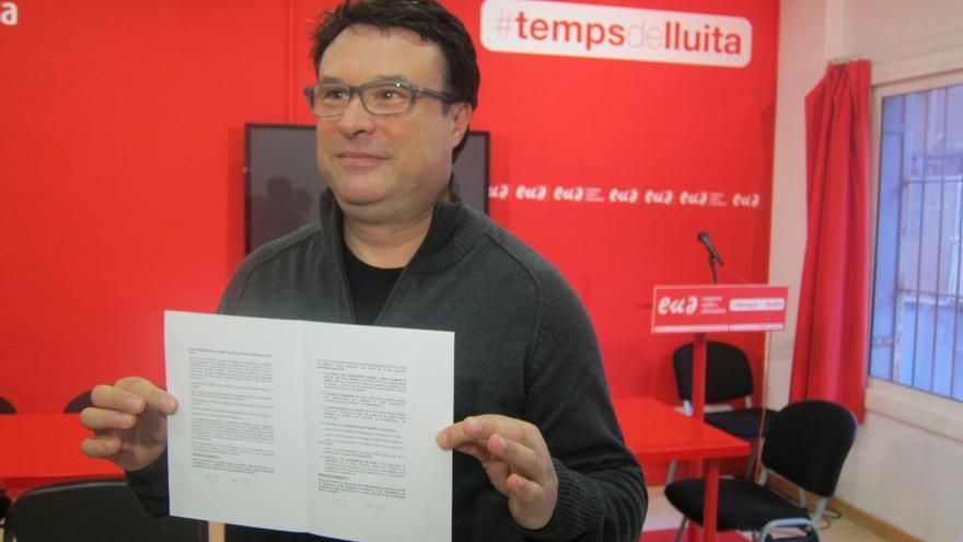 EUiA aprueba llamar a participar en el referéndum