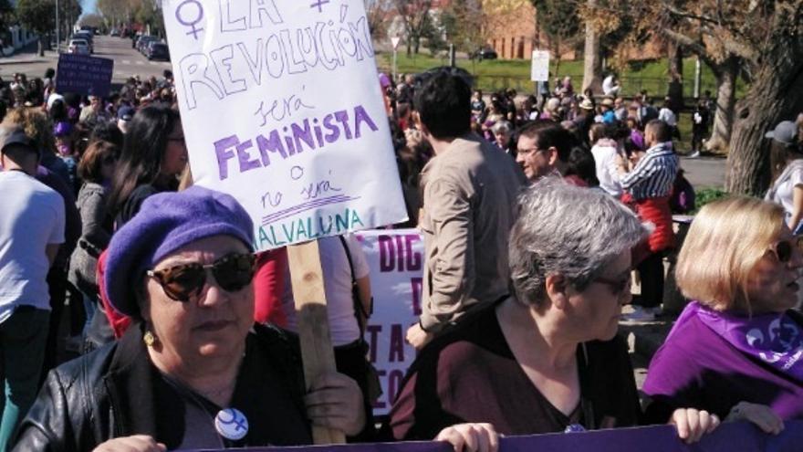 Las asociaciones de mujeres inciden en que sobran los motivos para tomar las calles y visibilizar las desigualdades
