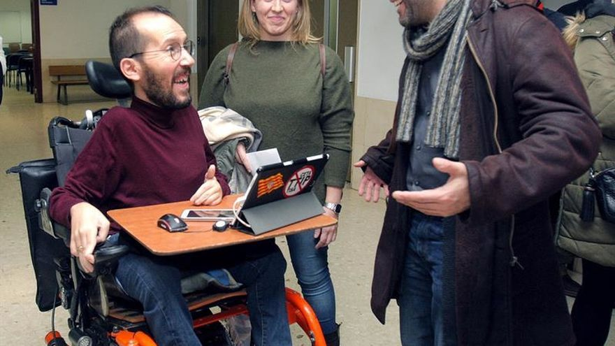 Pablo Echenique defiende más autonomía para las organizaciones autonómicas de Podemos