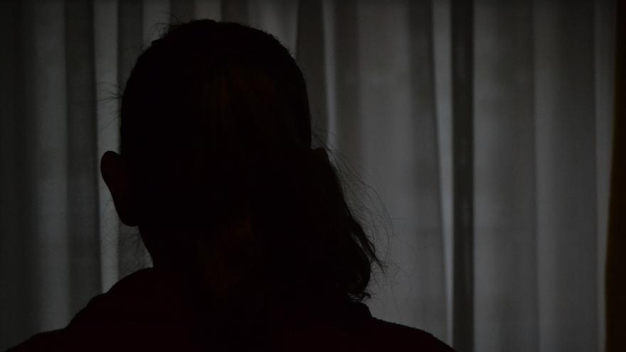 Laura, víctima de violencia machista, cuyos hijos sufrieron malos tratos de su padre aprovechando el régimen de visitas.