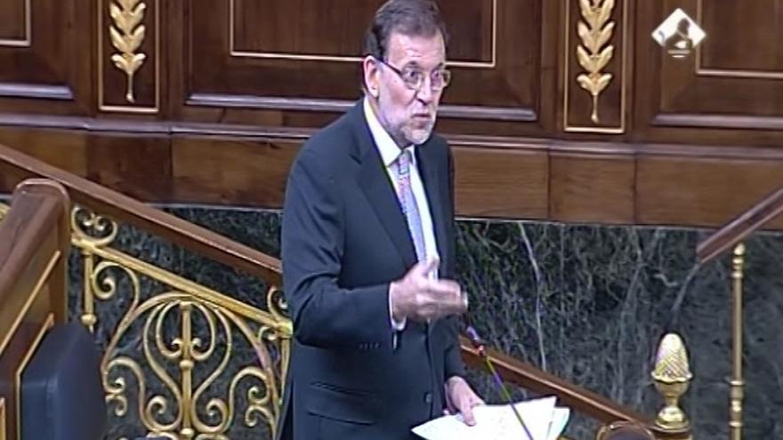"""Rajoy niega haber """"engañado"""" a los españoles porque no ha habido referéndum: """"He cumplido con mi deber"""""""